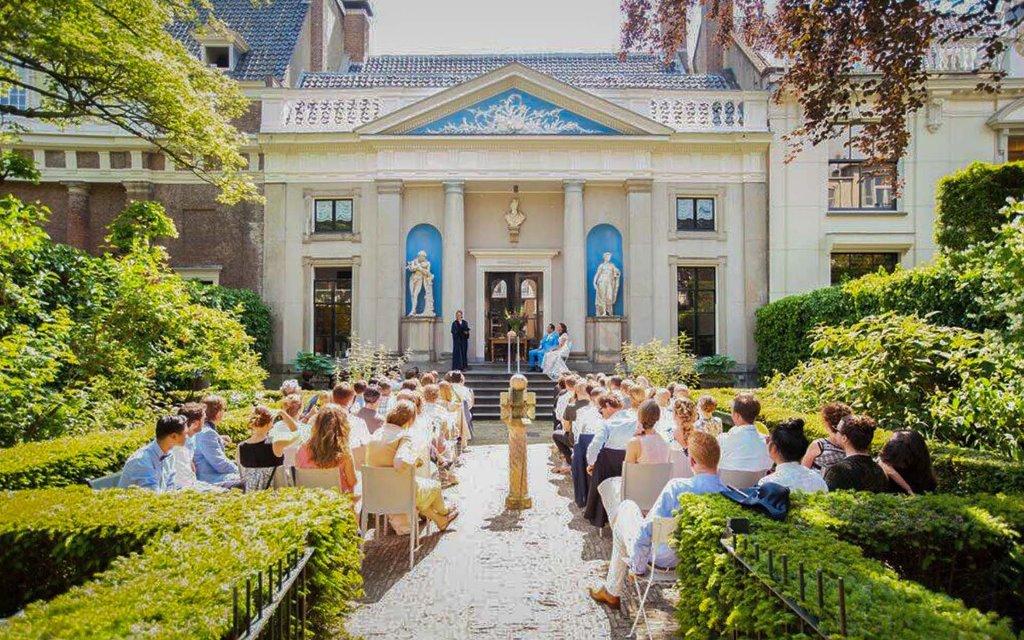 Viool solo muziek in de mooiste grachtentuin van Amsterdam?